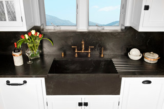 kitchen remodeling & soapstone for countertop materials