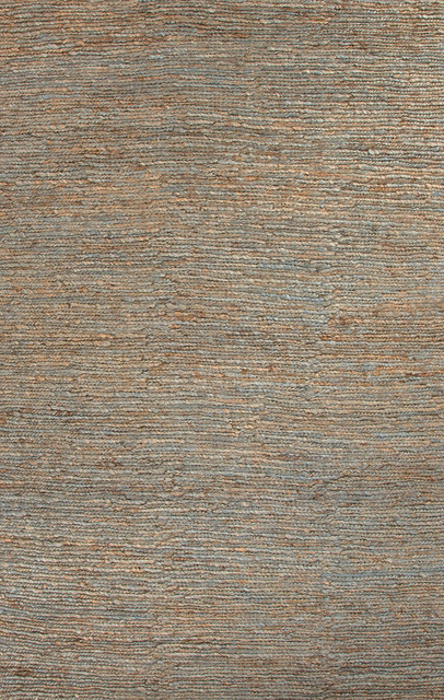 Naturals Naturals Pattern Hemp Taupe/Gray Area Rug ( 5X8 ) contemporary-rugs