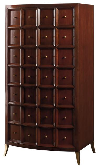 Bevel Tall Cabinet - Baker Furniture - Modern - Furniture - by Baker ...