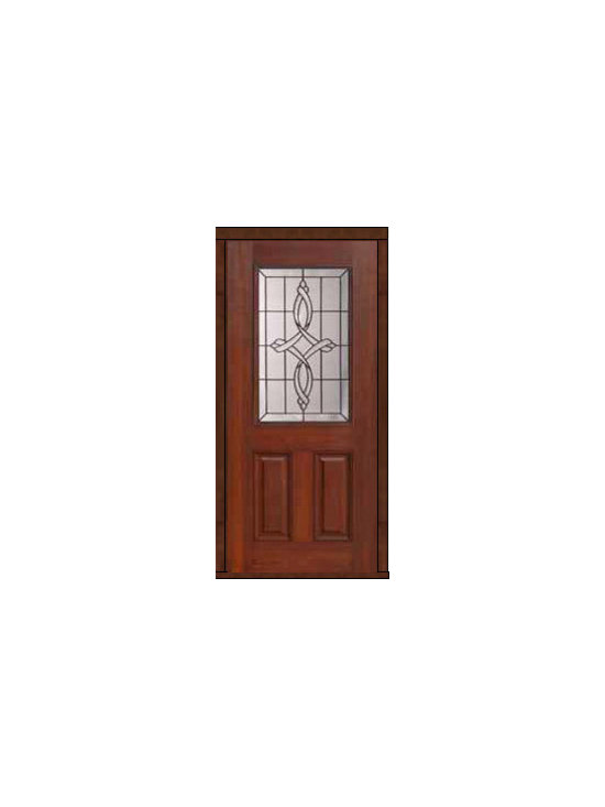 "External Single Door 80 Fiberglass Marsais 2 Panel 1/2 Lite - SKU#    MCT01395Brand    GlassCraftDoor Type    ExteriorManufacturer Collection    1/2 Lite Entry DoorsDoor Model    MarsaisDoor Material    FiberglassWoodgrain    Veneer    Price    1050Door Size Options      +$percent  +$percentCore Type    Door Style    Door Lite Style    1/2 LiteDoor Panel Style    2 PanelHome Style Matching    Door Construction    Prehanging Options    Slab , PrehungPrehung Configuration    Single DoorDoor Thickness (Inches)    1.75Glass Thickness (Inches)    Glass Type    Double GlazedGlass Caming    BlackGlass Features    Tempered glassGlass Style    Glass Texture    Glass Obscurity    Door Features    Door Approvals    Energy Star , TCEQ , Wind-load Rated , AMD , NFRC-IG , IRC , NFRC-Safety GlassDoor Finishes    Door Accessories    Weight (lbs)    248Crating Size    25"" (w)x 108"" (l)x 52"" (h)Lead Time    Slab Doors: 7 Business DaysPrehung:14 Business DaysPrefinished, PreHung:21 Business DaysWarranty    Five (5) years limited warranty for the Fiberglass FinishThree (3) years limited warranty for MasterGrain Door Panel"