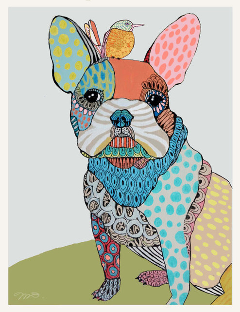 Custom Pet Portraits by Matea Sinkovec eclectic-artwork