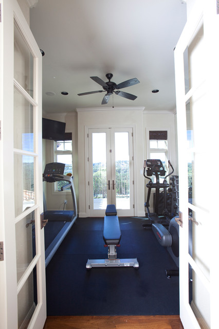 Experience Austin Luxury Contemporary Home Gym