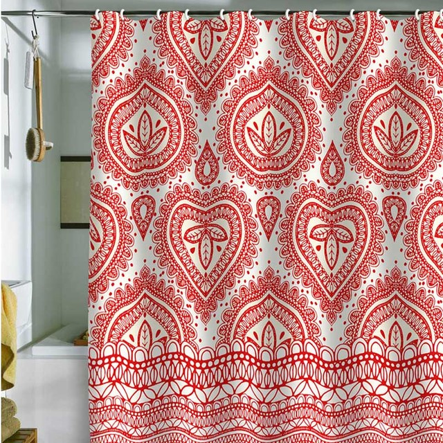 DENY Designs Aimee St Hill Decorative 1 Shower Curtain contemporary-showerheads-and-body-sprays