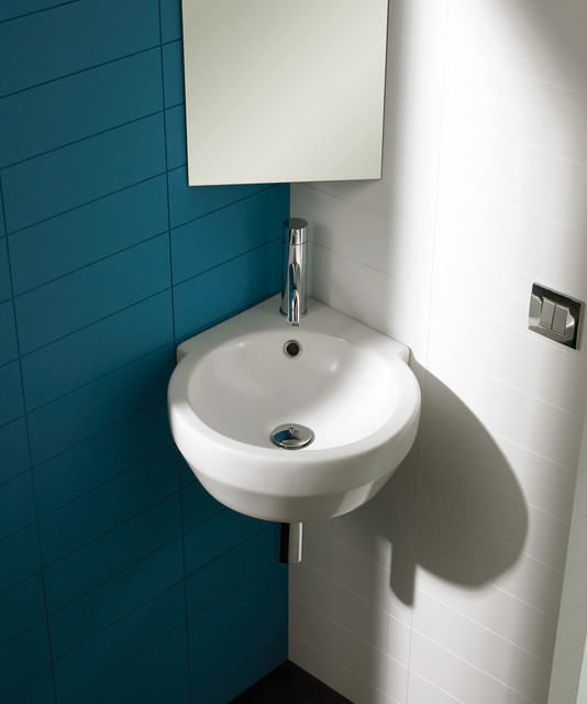 Bathroom With Corner Sink : All Products / Bath / Bathroom Sinks