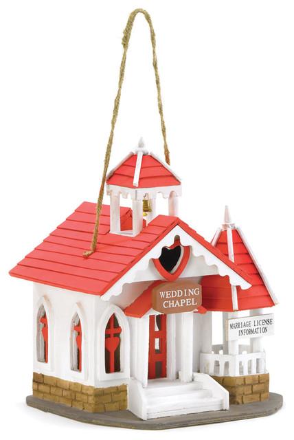 Koehler Home Decor Wedding Chapel Bird House modern-home-decor