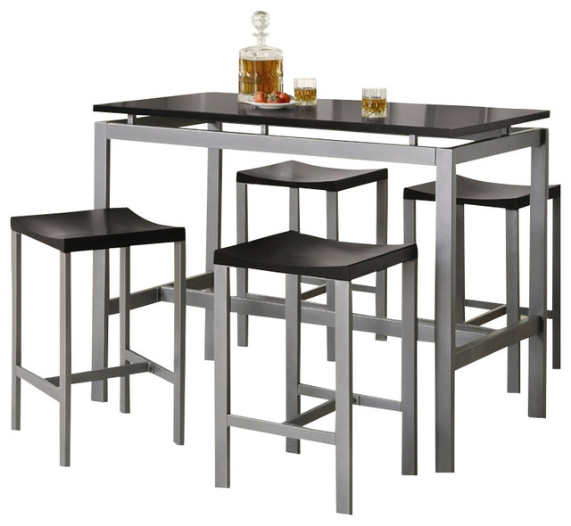 Coaster Altus Counter Height Table And Stool Set Modern Dining Sets Oth