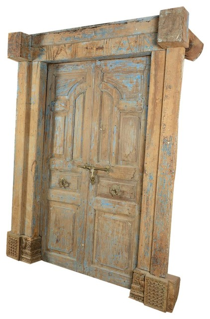 100 hand crafted and carved paneled antique style door traditional interior doors by for Antique looking interior doors