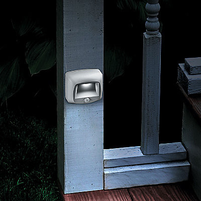 motion sensing led stair light contemporary outdoor lighting by