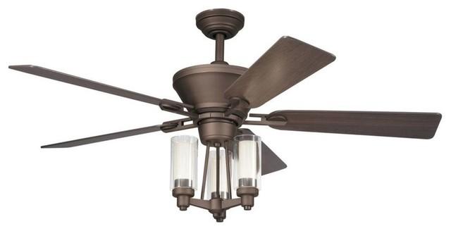 "52"" Circolo 52"" Ceiling Fan Olde Bronze contemporary-ceiling-fans"