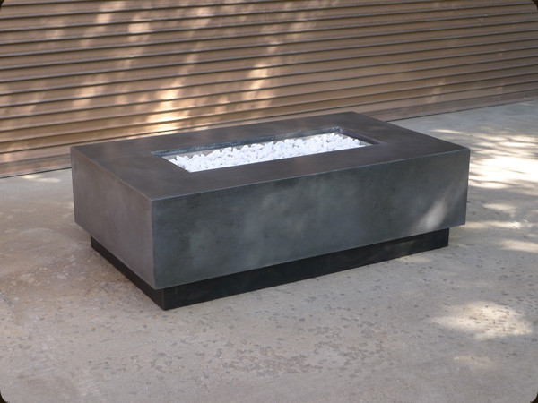 Concrete Fire Pits and Fireplace Surrounds contemporary-fire-pits