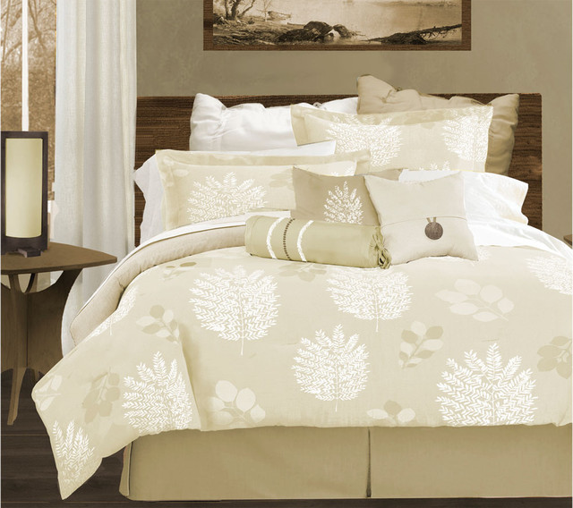 Izumi designer bedding set by lawrence home modern bedding for Bedroom quilt ideas