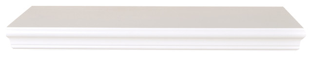 "Dover Wall Shelf 20"", White contemporary-display-and-wall-shelves"