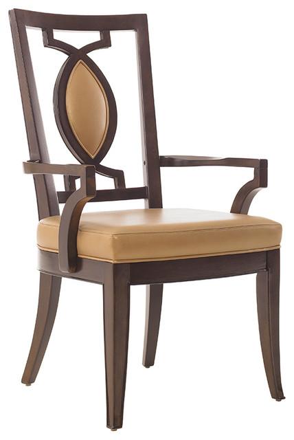 Lexington St. Tropez Saverne Arm Chair contemporary-accent-chairs