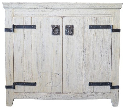 36 quot americana vanity in whitewash bathroom vanities and sink consoles