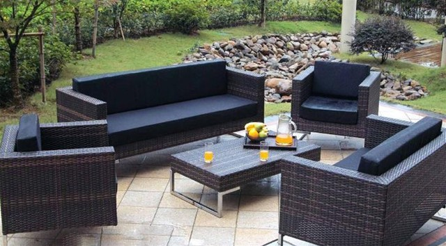 Magnolia 5 Pieced Patio Sofa Set Outdoor Furniture