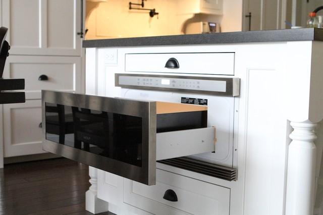 Wolf Microwave Drawer Contemporary Kitchen Portland