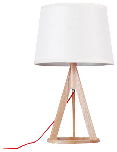 russia ash wood base mini desk lamp contemporary table lamps by parrotu. Black Bedroom Furniture Sets. Home Design Ideas