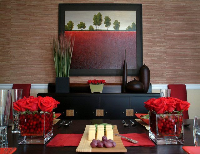 Eclectic dining room in Bryn Mawr, PA asian-dining-room