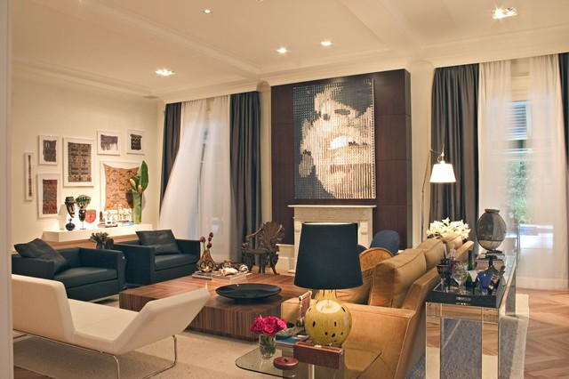 Marcelo Brito - Sao Paulo - Brazil contemporary living room