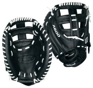 Wilson A600 33 in. Fastpitch Catchers Mitt modern-oven-mitts-and-pot-holders