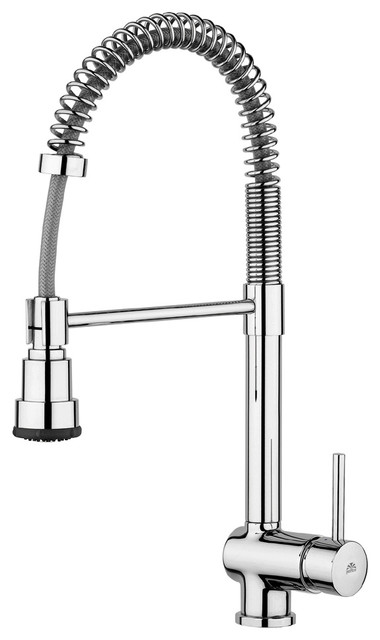WS Bath Collections Stick Kitchen Sink Mixer contemporary-kitchen-faucets