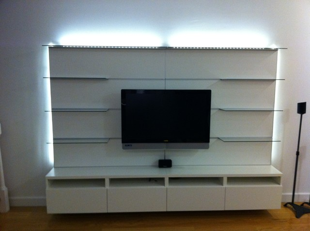 IKEA Besta and Besta / Framsta TV entertainment installations ...