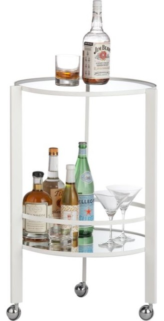 Ernest White Bar Cart modern bar carts