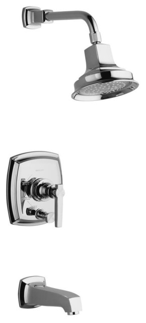 Kohler Margaux Faucet Trim Single Handle Shower - contemporary