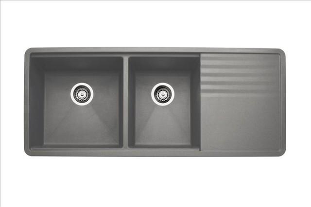 Blanco Grey Sink : Blanco Metallic Gray Sink - Contemporary - Kitchen Sinks - by PoshHaus