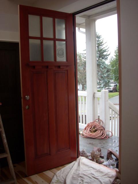 """Overheight craftsman """"Kerrisdale"""" front door front-doors"""