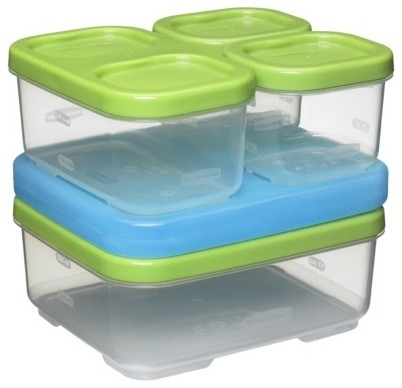 Rubbermaid LunchBlox Sandwich Kit Contemporary Lunch Boxes And Totes By