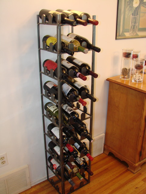 Wine Rack eclectic-artwork