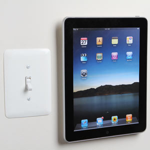 PadTab, Wall Mount for iPad contemporary-media-storage