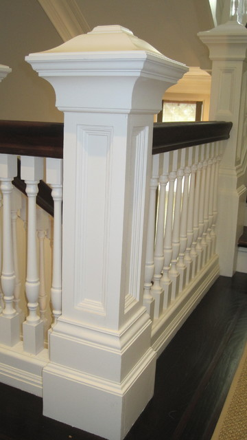 Vallejo St. Home traditional-staircase