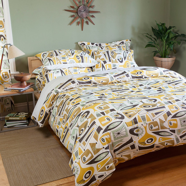 atomic dreams collection midcentury bedding seattle