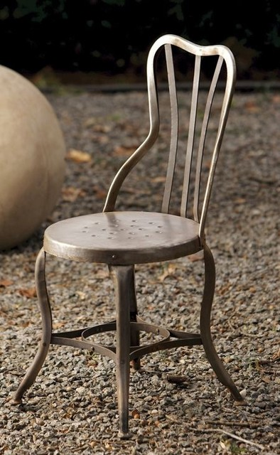 Metal Praque Chair eclectic dining chairs