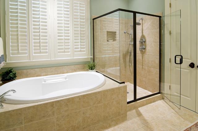 EZ-NICHES Bathroom Shampoo Soap Recess Shelf Wall Niche Caddy modern