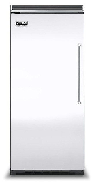 "Viking Professional 36"" Built-in All-freezer, White Left Hinge 