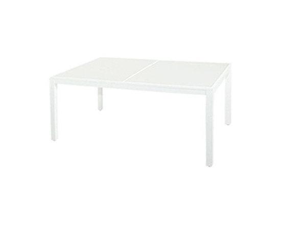 Mamagreen - Mamagreen | Allux Dining Table, Glass - Design by Vincent Cantaert & Barbara Widiningtias.