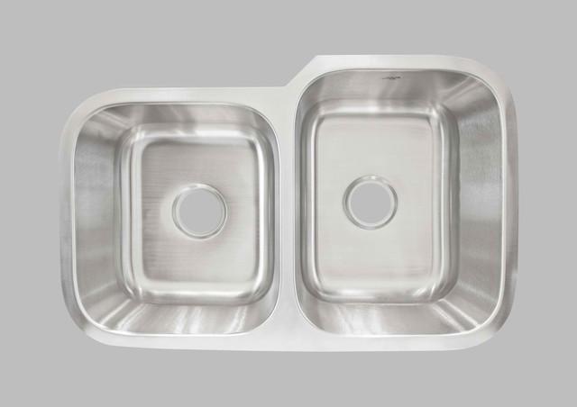 KCK Kitchen Sinks - Undermount Double Bowl Sink LCL202L kitchen-sinks