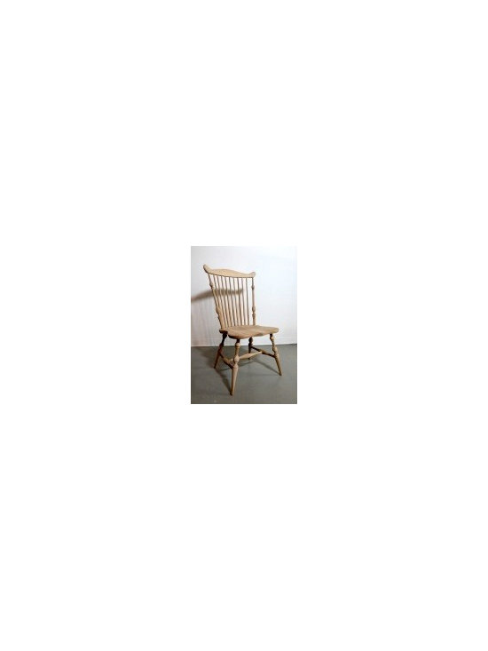 Amelia Junior Chair In Golden Brown Finish - Made by http://www.ecustomfinishes.com