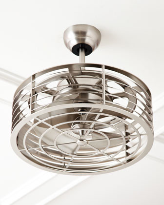 Silver-Tone Fandolier traditional-ceiling-fans