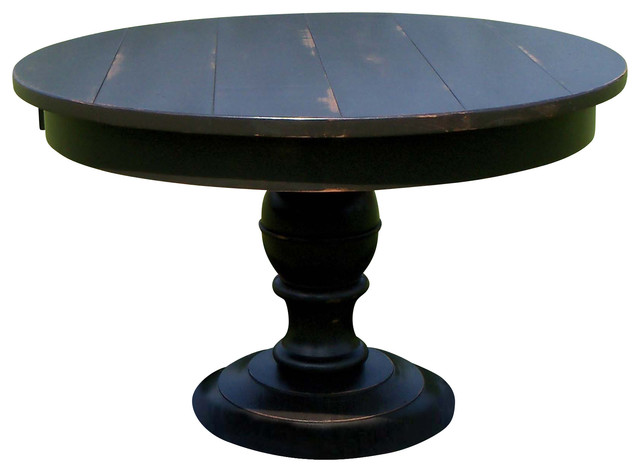 Pedestal Dining Table 54 X 54 X 30 Traditional Dining Tables