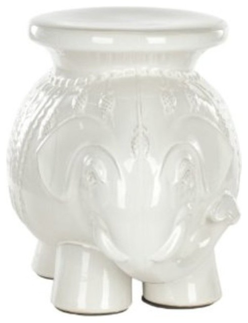 Safavieh Castle Gardens Collection Elephant Ceramic Garden