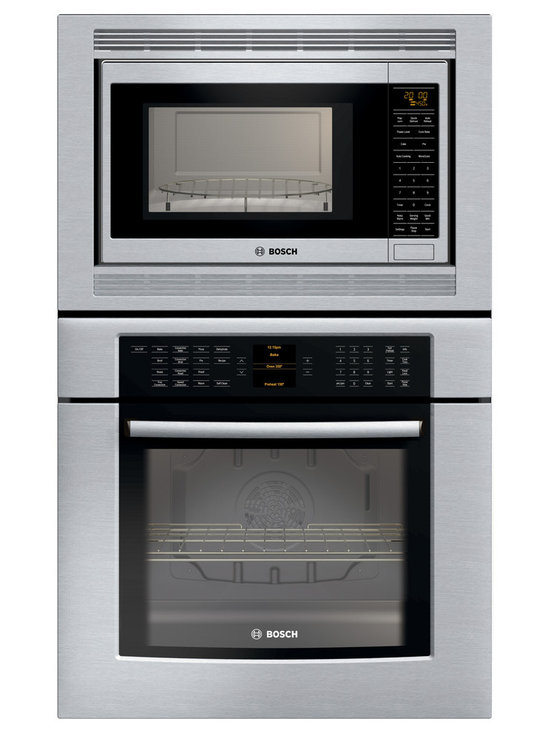 """Bosch 30"""" 800 Series Combination Wall Oven Stainless Steel 
