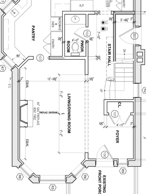 Furniture layout of living dining room any advise Living room furniture layout bay window