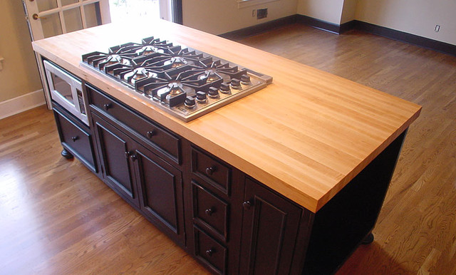 Maple Wood Kitchen Island Countertop By Grothouse