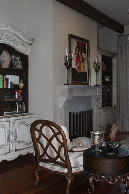 French Colonial traditional-living-room