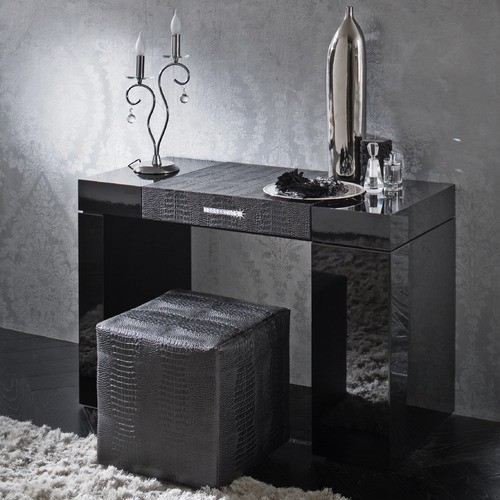 Diamond dressing table modern nightstands and bedside tables by allmodern - Modern bathroom dressing table ...