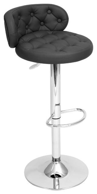 Royale Bar Stool - BLACK contemporary-bar-stools-and-counter-stools